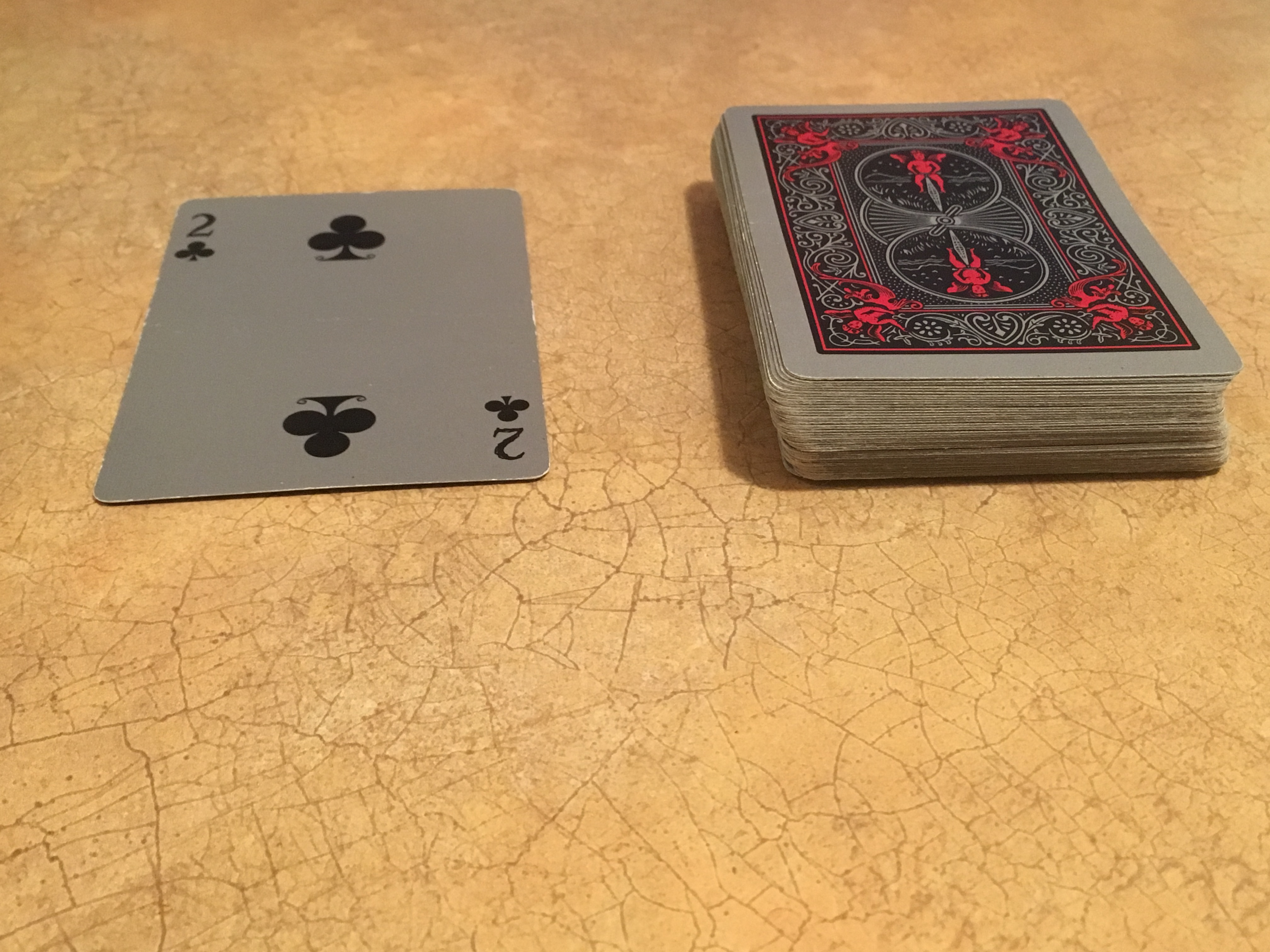 Picture of Have the Spectator (the Person You Are Doing the Trick On) Pick a Card