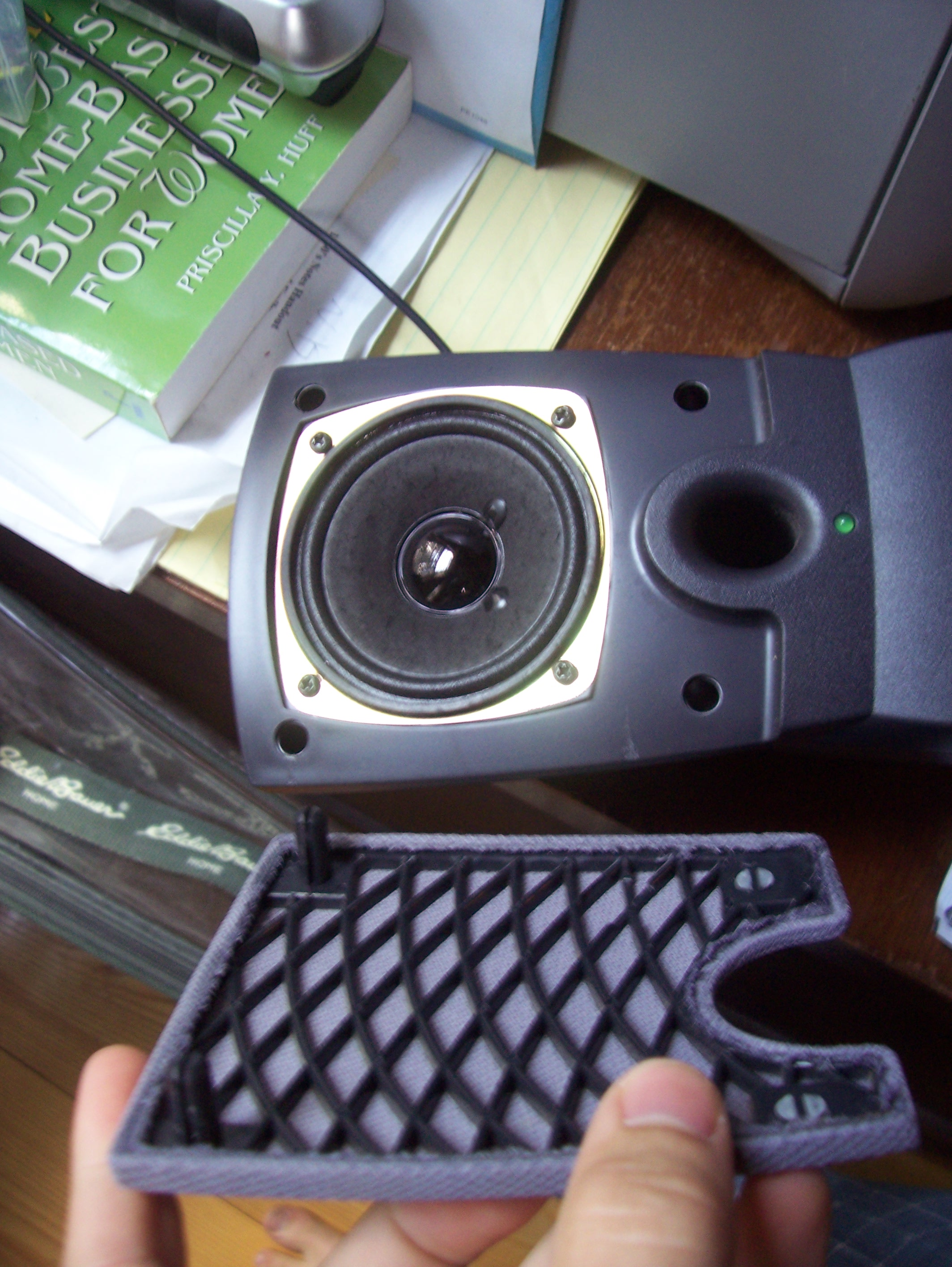 Picture of Remove the Speaker Cover.