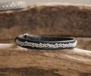 Elegant Tin Wired Sami Bracelet