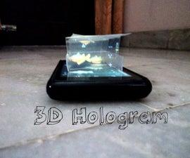 3D Smartphone Hologram Beta Type