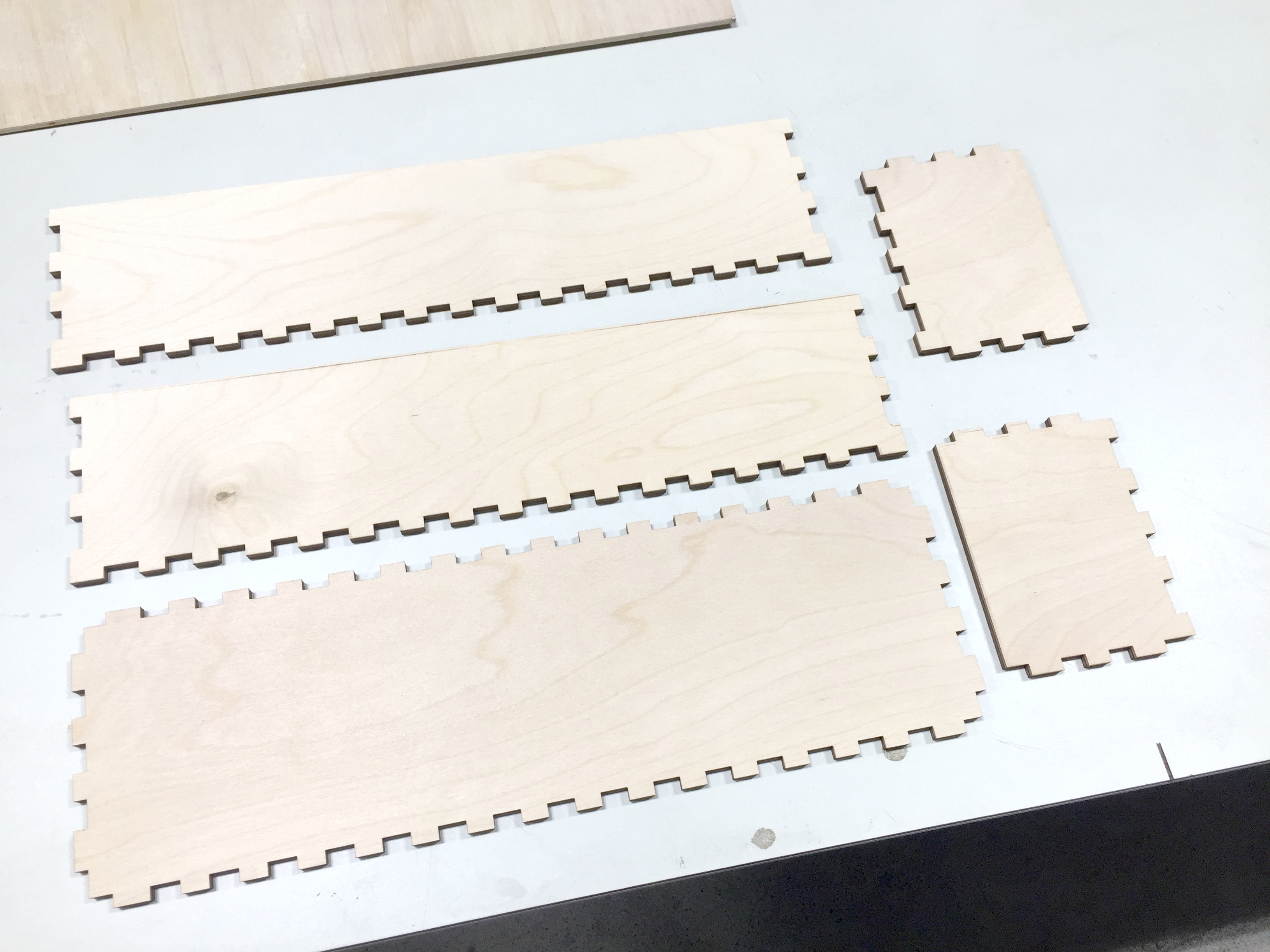 Picture of Laser Cut and Fit Test