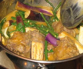 Kare-Kare: Filipino ox tail stew