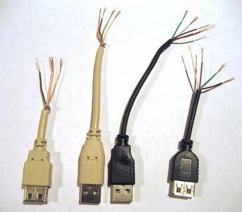 Shorten the USB Cables