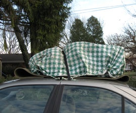 Tie Loads to Car Roofs By Making Temporary Anchors