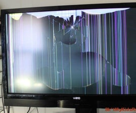cracked screen prank video