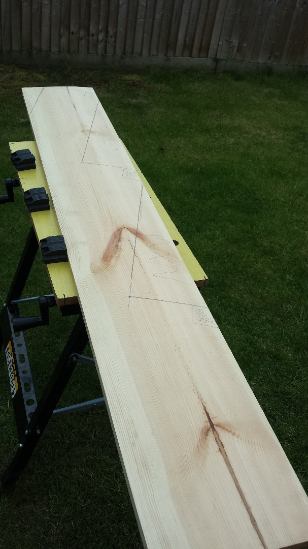 Picture of Making the Step Supports
