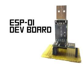 Tiny ESP-01 Dev Board