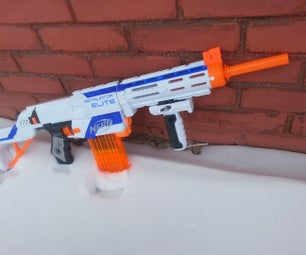Nerf Retaliator Mod: Air Restrictor Removal and Barrel Extension