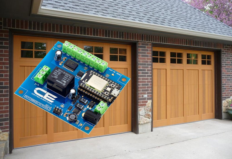 Picture of Wire It Up to Whatever You Want to Control(Garage Door)