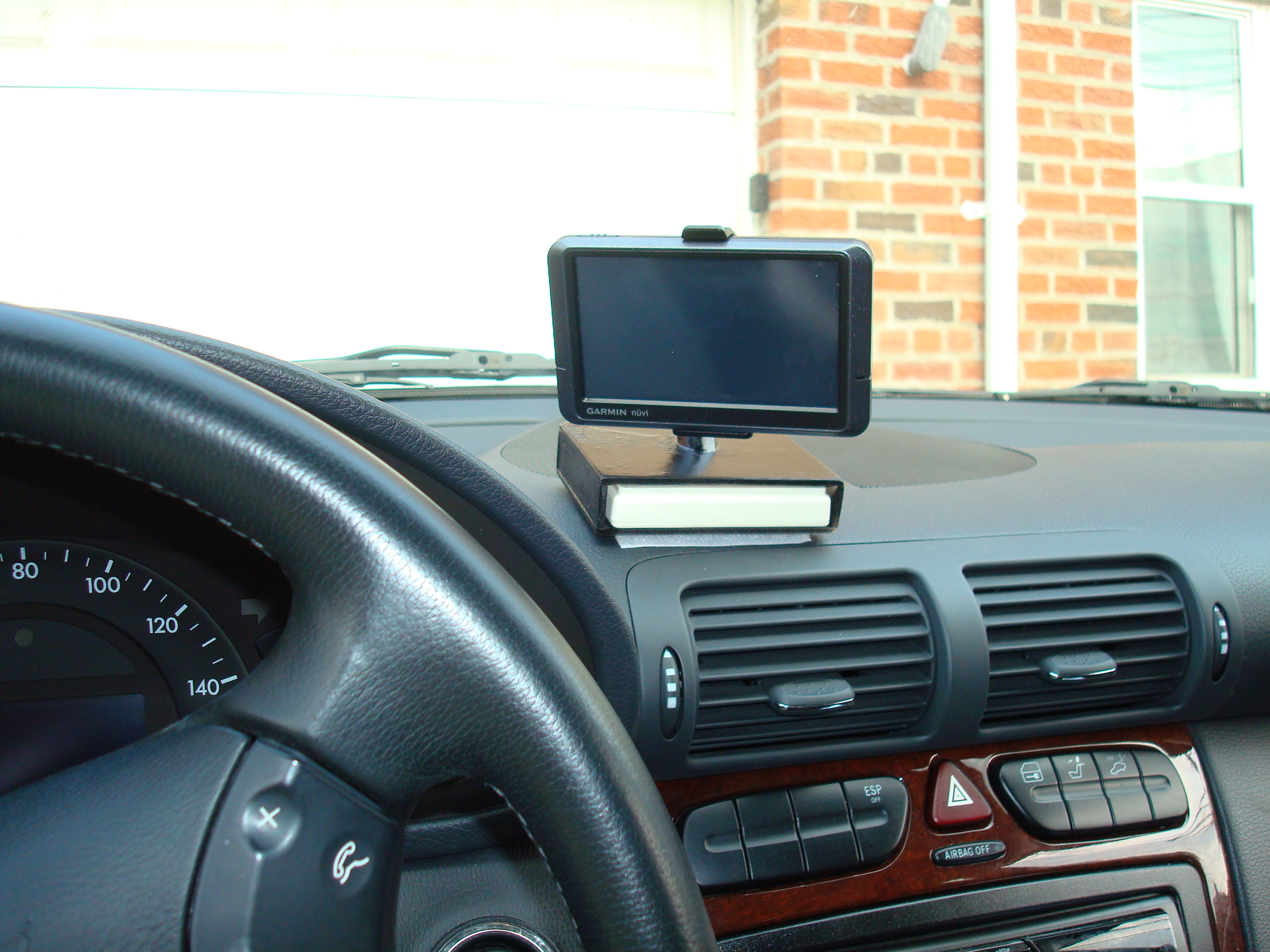 Picture of Direct Wire GPS Mount + EZPass Holder for Benz C240