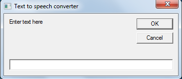 Picture of Text to Speech Converter