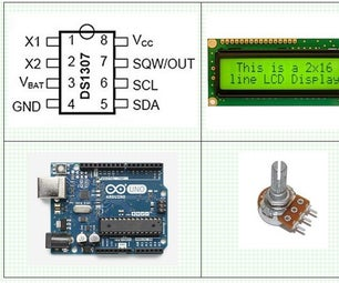 Arduino – DS1307 Real Time Clock - RTC