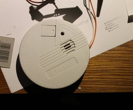 Modify a 6 EUR smoke detector for use with microcontroller, auto-dialer, linking, and more