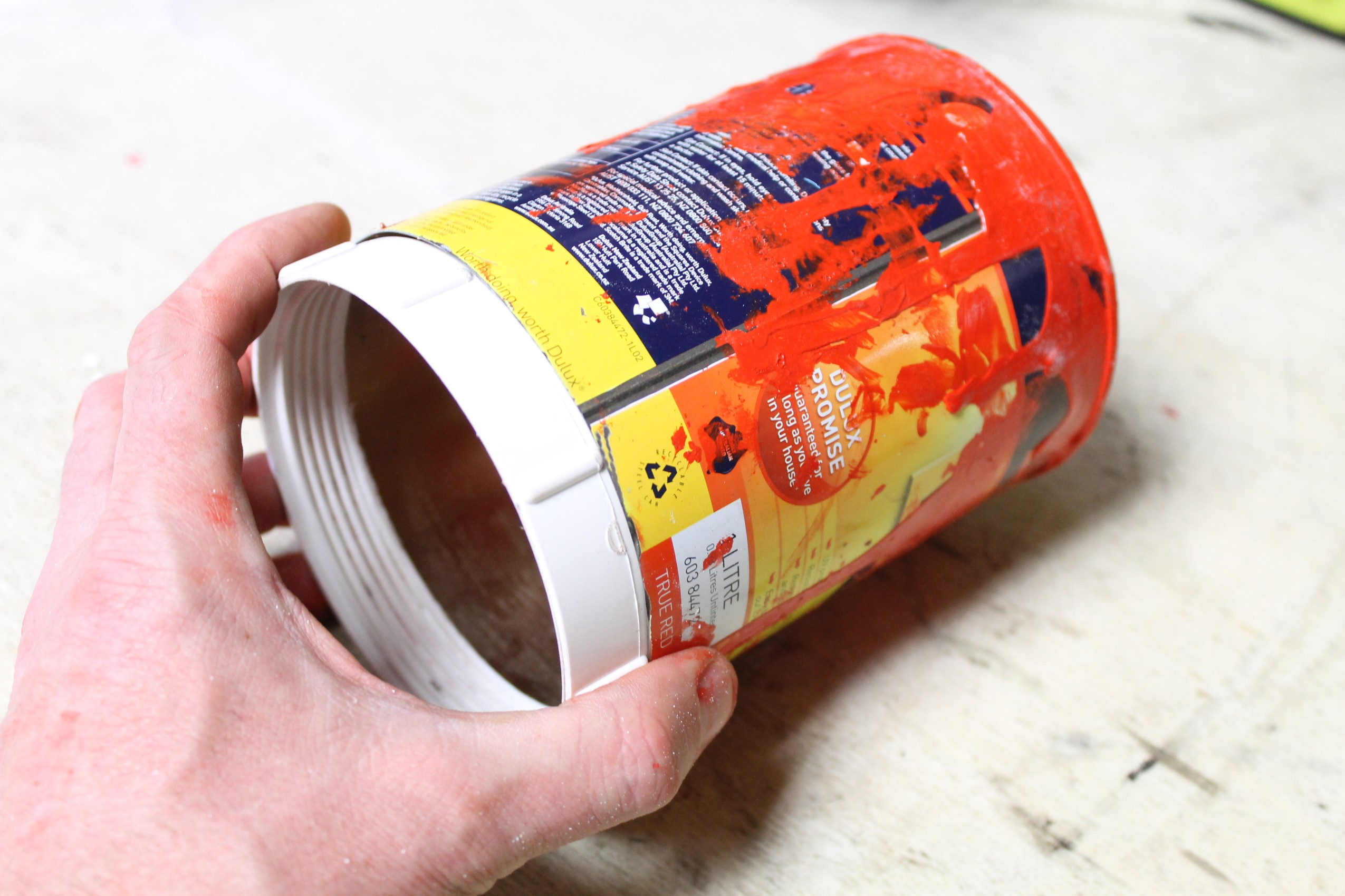 Picture of Adding the Screw Cap to the Can