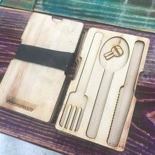 Laser Cut Wood Wallet