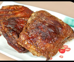 Smoked Ribs - Dry Rubbed