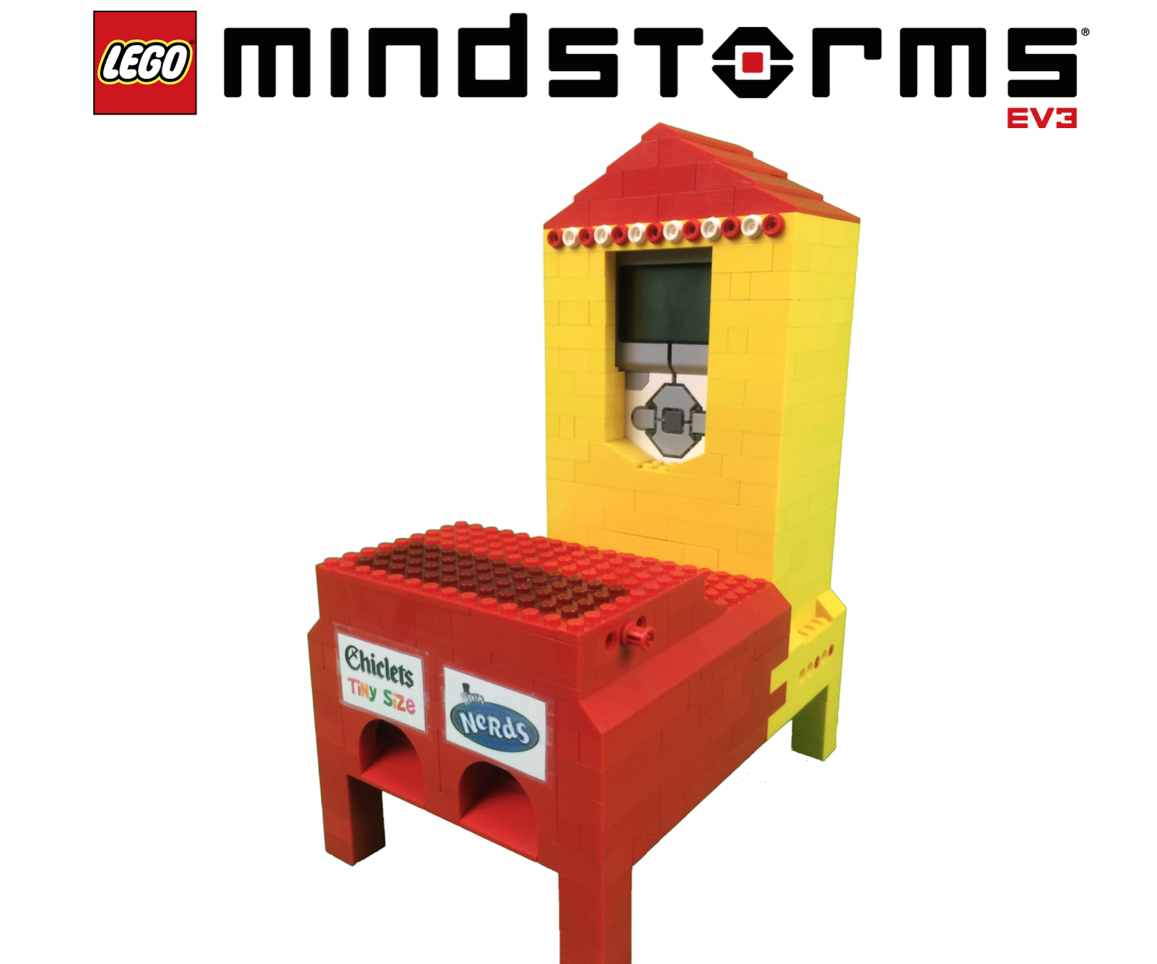 Lego Mindstorms Candy Machine 3 Steps With Pictures
