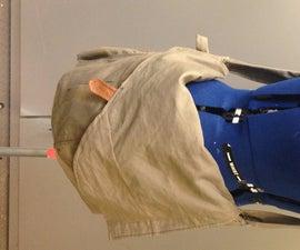 Upcycled messanger bag