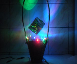 LED and Music Flower Basket