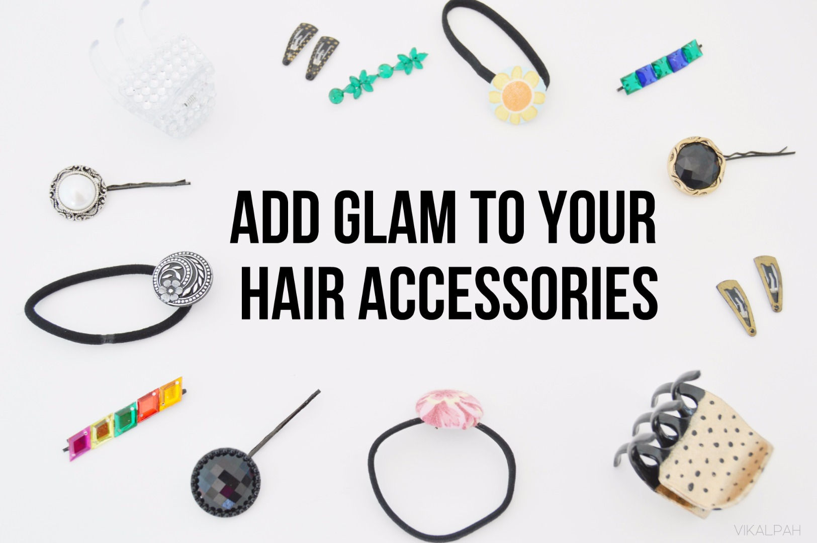 Picture of Add Glam to Your Boring Hair Accessories Using Simple DIYS
