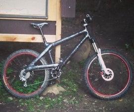 Homemade Carbon Fiber Mountain Bike