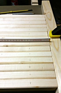 Mark, Drill, and Countersink the Holes for the Dowels