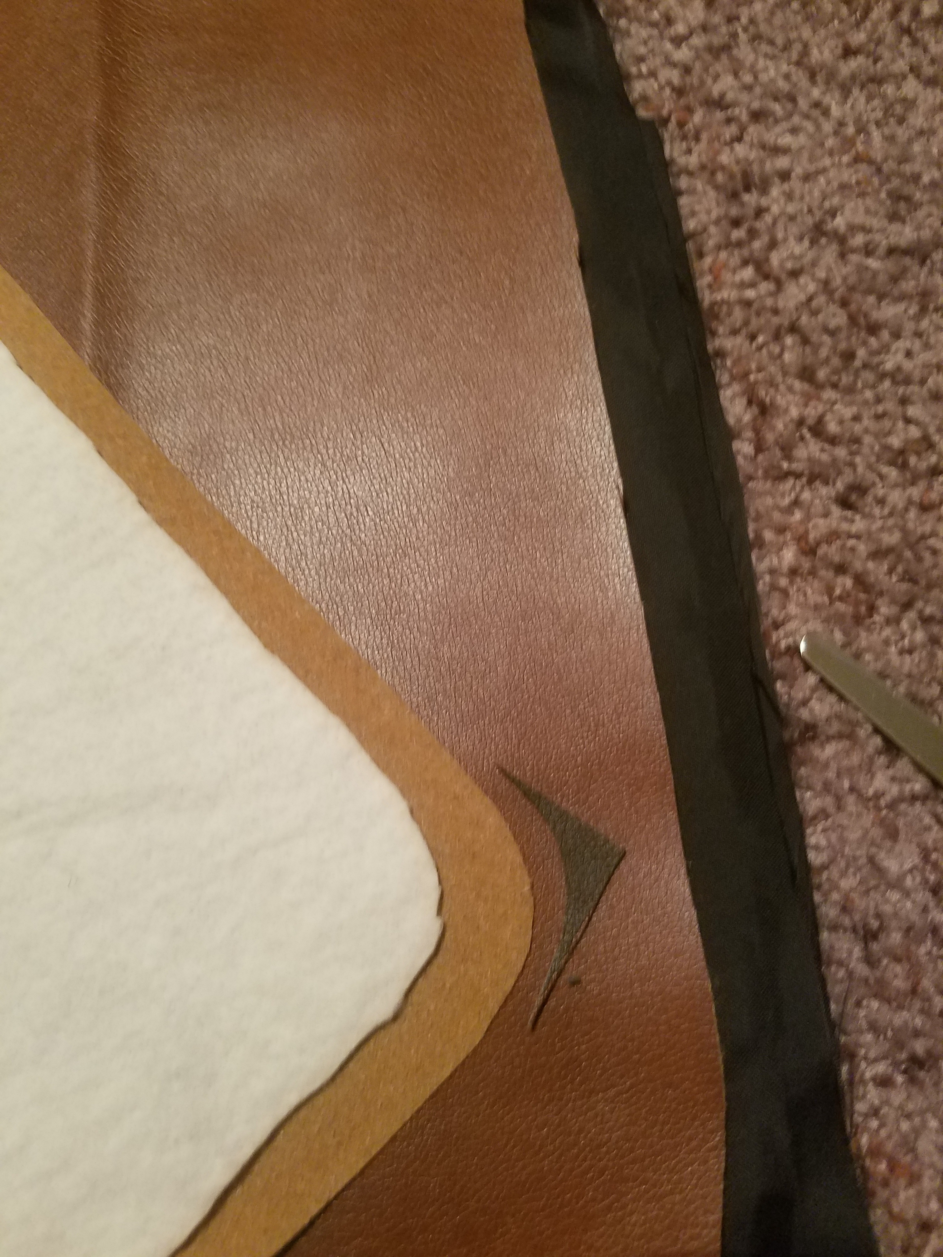 Picture of Cutting the Outward Face Closing Flap ( All Other Layers )
