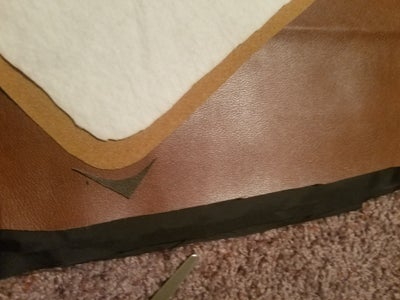 Cutting the Outward Face Closing Flap ( All Other Layers )