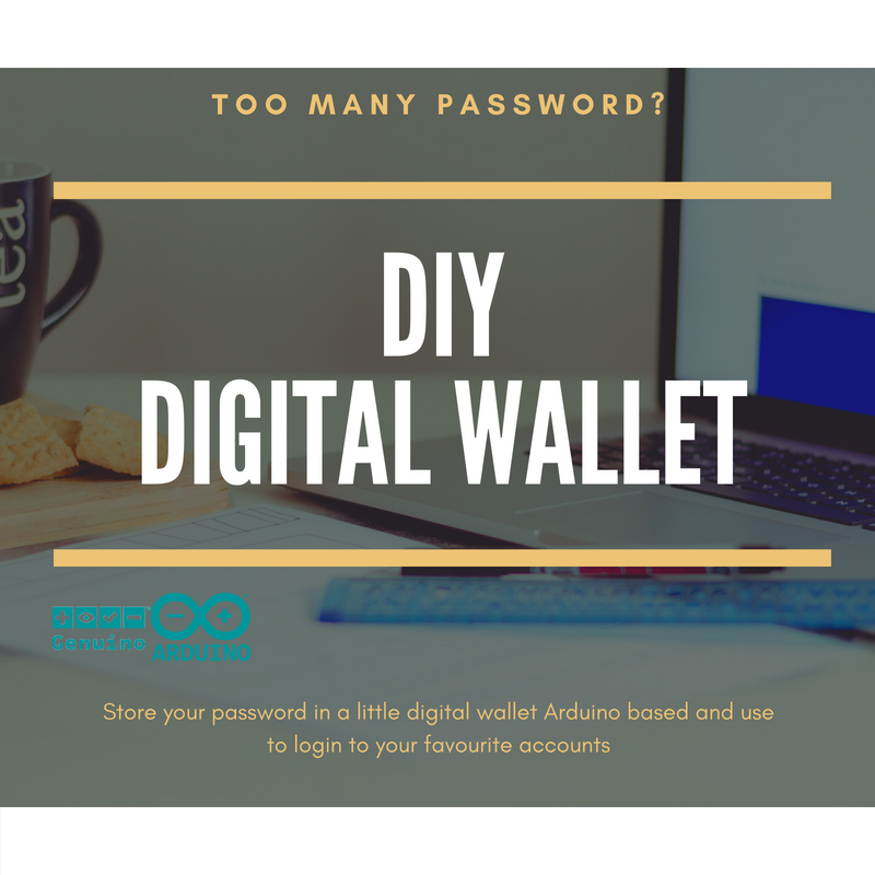 Picture of Digital Wallet Arduino Based