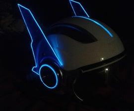 Space robot helmet