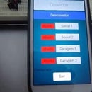 Arduino Bluetooth Garage Door Control with Sensors and Customizable Android App