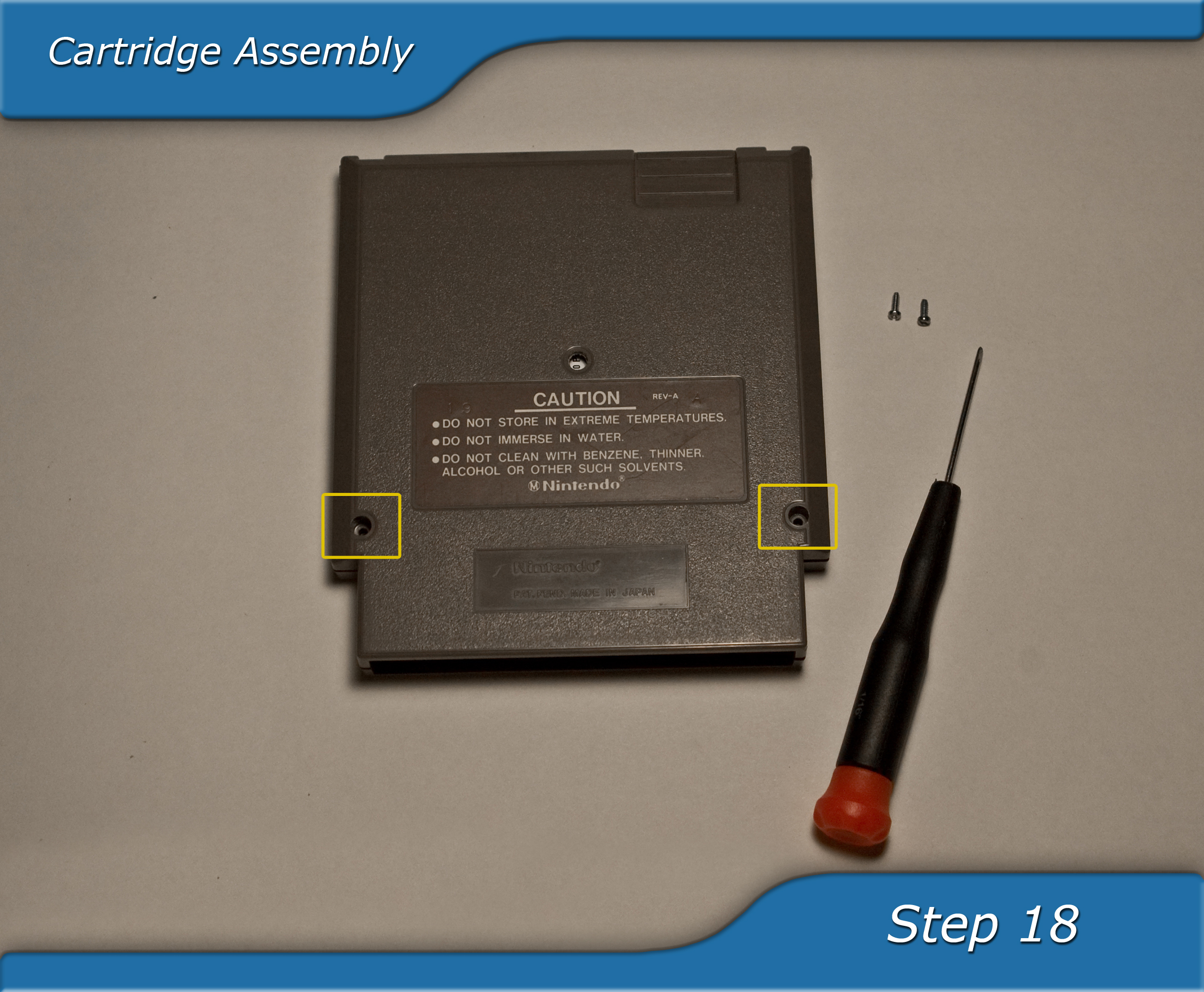 Picture of Cartridge Reassembly