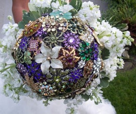 My Personal Brooch Bouquet!