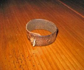 Easy Leather Bracelet