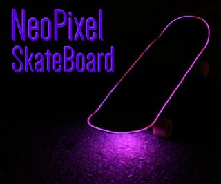 NeoPixel SkateBoard