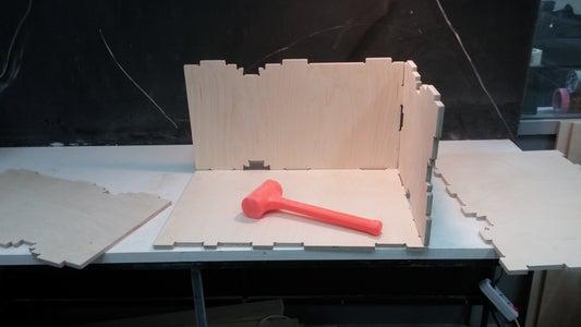 Final Sanding and Assembling