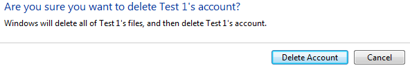 Picture of Delete Extra User Accounts