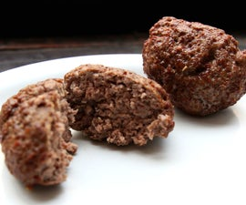 Precision-cooked, fried hamburgers - Modernist cryo-fried burgers