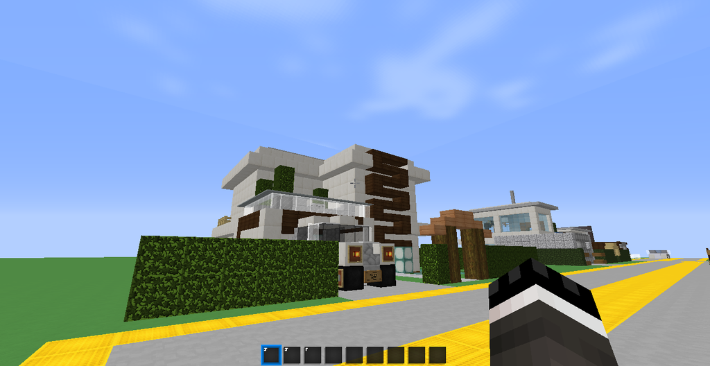Tips For Making Modern Houses In Minecraft Exterior 5 Steps Instructables