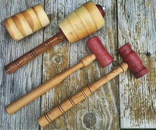 Artisan Mallets for Leathercraft, Woodworking and Sculpting
