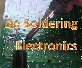 De-soldering: Salvaging Components From Electronics.