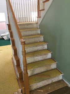 """Removal of 1"""" Overhang on Existing Treads"""