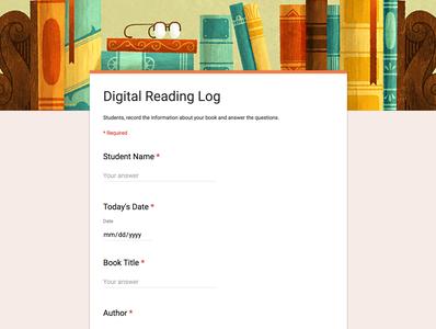 Digital Reading Logs