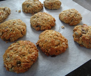 Low Fat Oatmeal Cookies