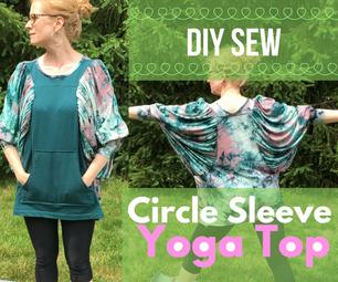 Circle Sleeve Yoga Sweatshirt