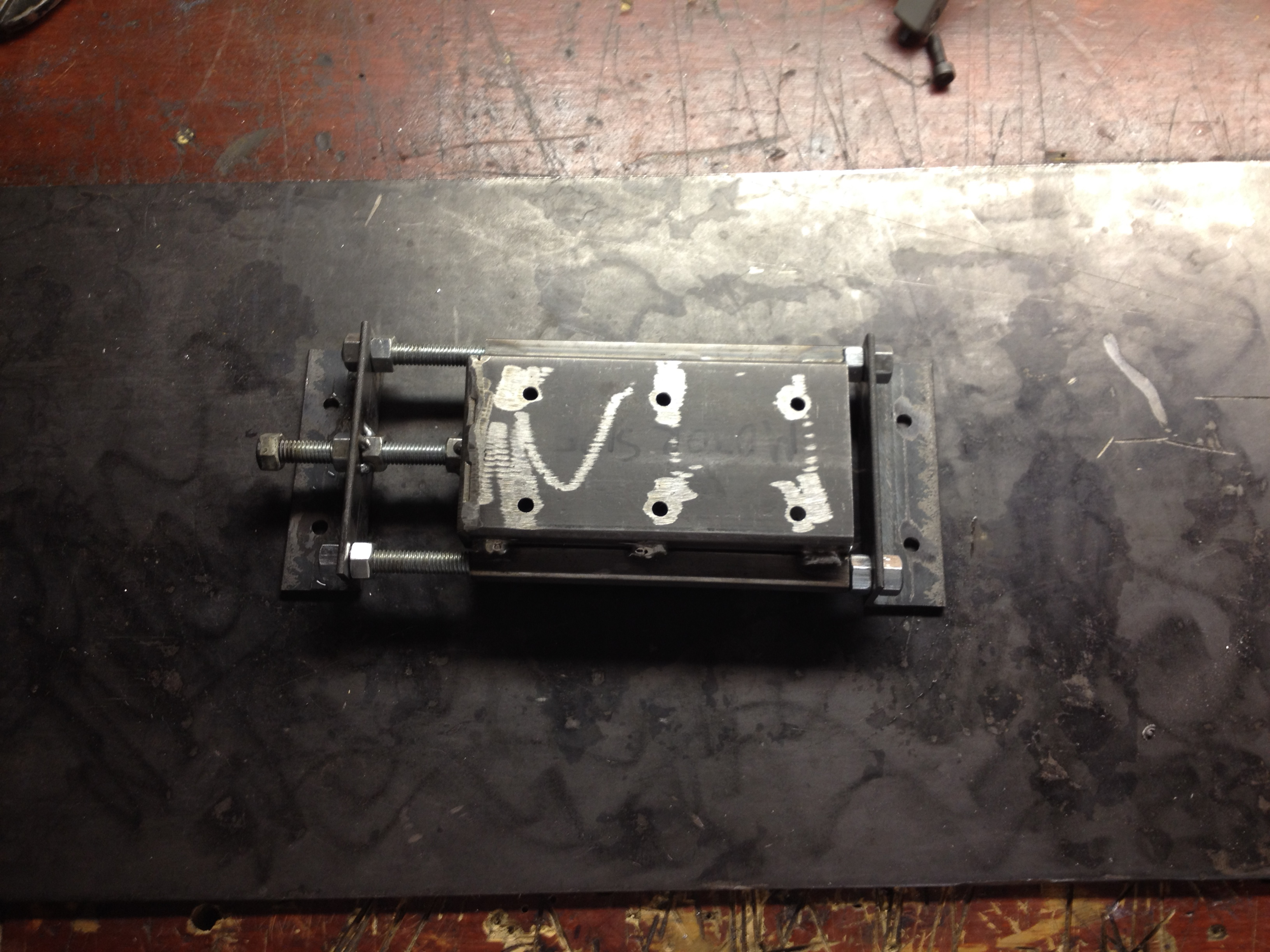 Picture of Adjustable Motor Base Build Continued
