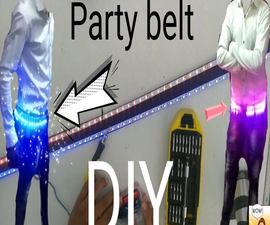 PARTY LIGHT UP BELT