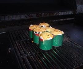 BBQ Chilli Prawn Cupcakes