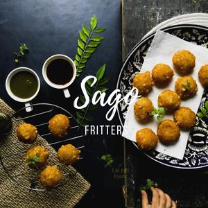 Sago/tapioca Fritters