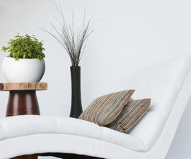 How to Make Easy Cedar Slice End Tables